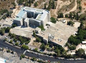Aerial Herzog Hospital